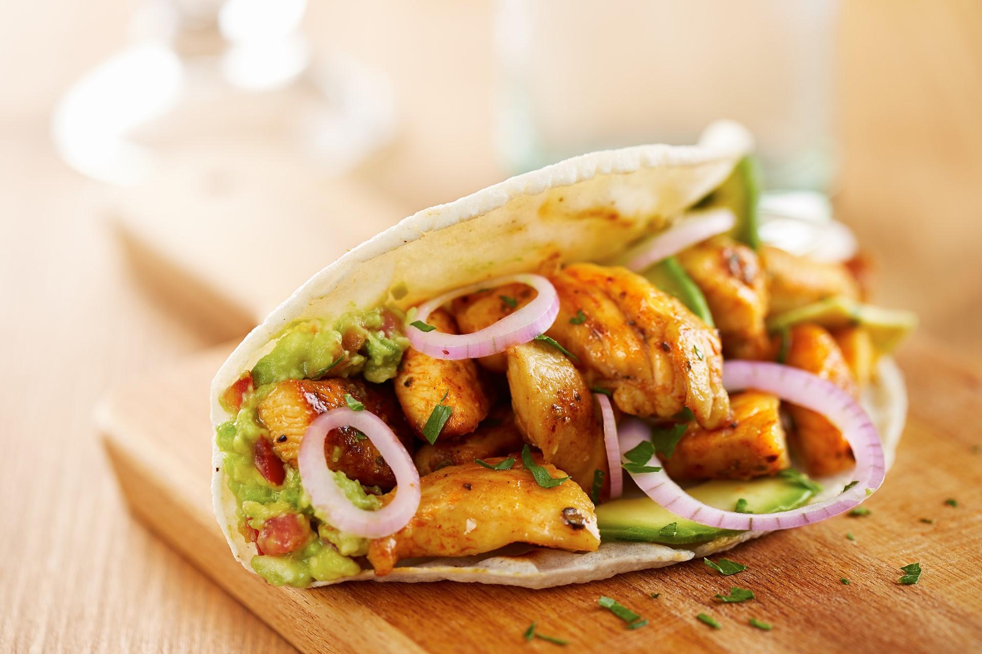 tacos z kurczakiem - QAFP mięso najlepszej jakości